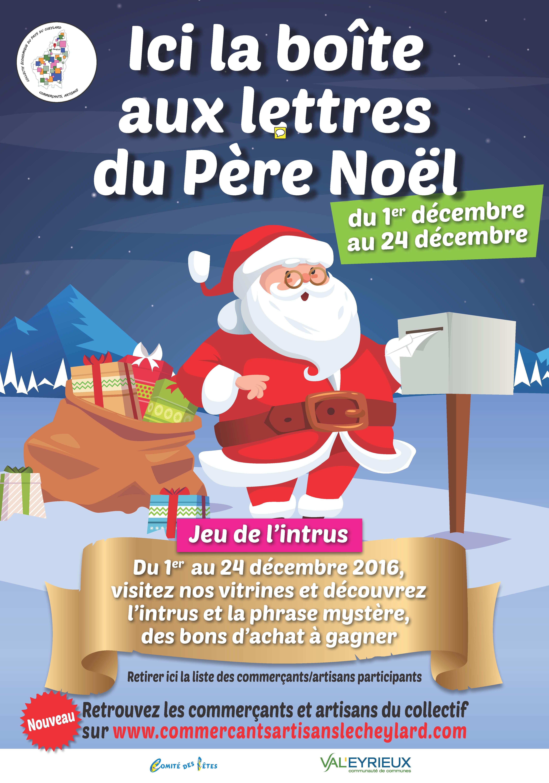 Site Lettre Au Pere Noel.Boite Aux Lettres Du Pere Noel Collectif Economique Du